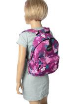 Backpack Mini Rip curl Violet flora LBPGL1-vue-porte