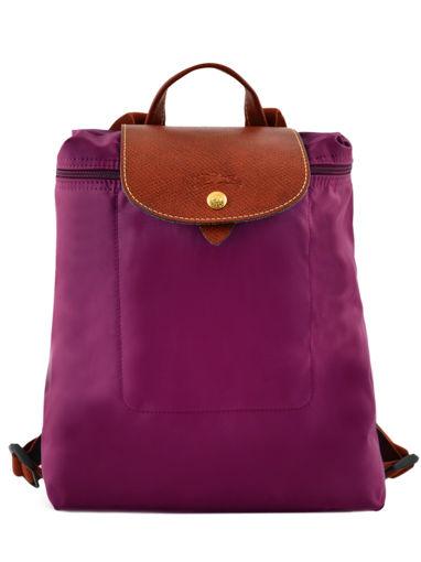 Longchamp Sac à dos Violet
