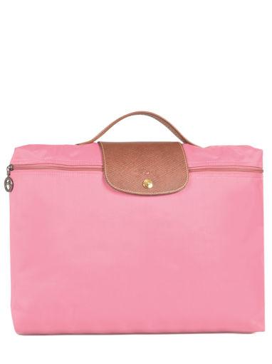 Longchamp Briefcase Pink