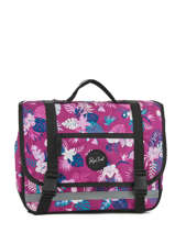 Cartable 2 Compartiments Rip curl Violet flora LBPGU1