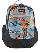 Backpack 3 Compartments Rip curl Black brush stokes BBPUX2