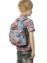 Backpack Mini Rip curl Black brush stokes BBPVL2-vue-porte