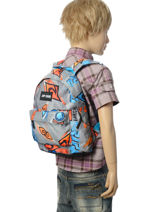 Backpack Mini Rip curl Blue brush stokes BBPVL2-vue-porte