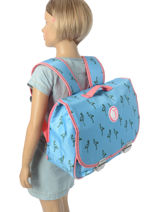 Cartable Jp by jeune premier Bleu jp bags PAL18-vue-porte