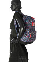 Backpack 1 Compartment Superdry Black backpack woomen G91008NQ-vue-porte