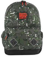 Sac à Dos 1 Compartiment Superdry Noir backpack men M91014NQ