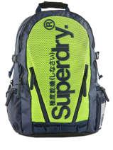 Sac A Dos 2 Compartiments Superdry Noir backpack men M91022DQ