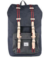 Backpack 1 Compartment Herschel Black offset 10014-O