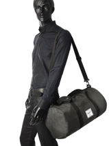 Cabin Duffle Supply Herschel Black supply 10251-vue-porte