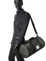 Sac De Voyage Cabine Supply Herschel Noir supply 10251-vue-porte