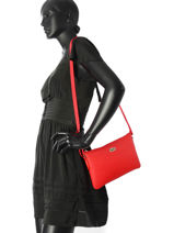 Shoulder Bag L.12.12 Concept Lacoste Black l.12.12 concept NF1887PO-vue-porte