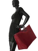 Longchamp Le pliage club Travel bag Beige-vue-porte