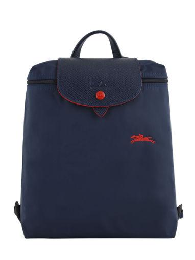 Longchamp Le pliage club Sac à dos Bleu