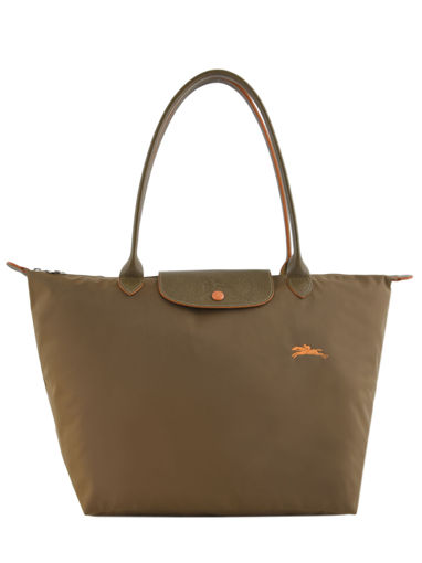 Longchamp Le pliage club Besaces Vert