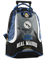 Sac à Dos à Roulettes 2 Compartiments Real madrid Noir 1902 183R204R
