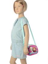 Bag Frozen Blue anna et elsa AS8874-vue-porte