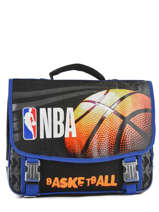 Cartable 2 Compartiments Nba Noir basket 183N203S