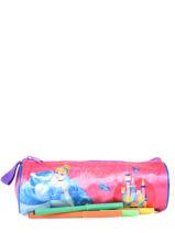 Kit 1 Compartment Disney Pink princess AST4917-vue-porte