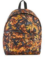 Backpack 1 Compartment Miniprix Orange basic L07917