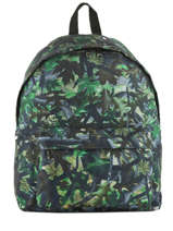 Backpack 1 Compartment Miniprix Green basic L07917