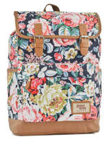 Sac à Dos 1 Compartiment Basilic pepper Multicolore liberty G653-FLO