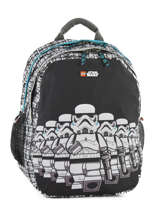 Backpack 2 Compartments Lego Black star wars 20025-29
