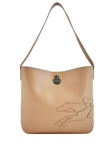 Longchamp Shop-it Hobo bag Beige