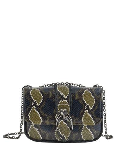 Longchamp Amazone python Hobo bag Green