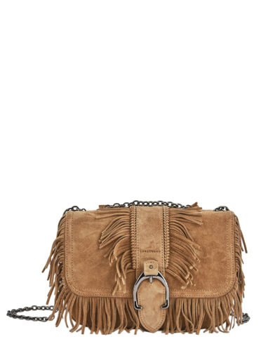 Longchamp Amazone folk Hobo bag Beige