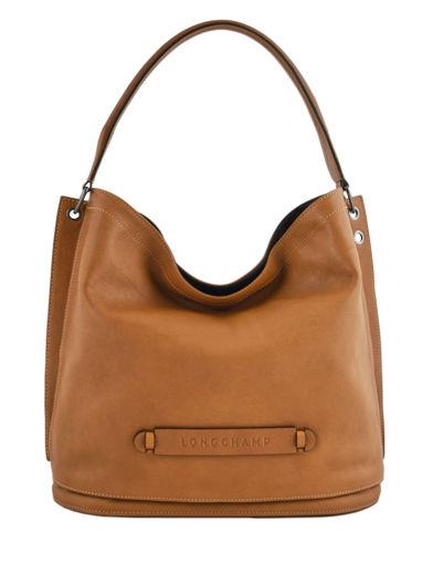 Longchamp Longchamp 3d Hobo bag Beige