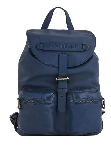 Longchamp Sacs à dos Bleu