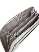 Wallet Leather Michael kors White money pieces T8SF6Z3T-vue-porte