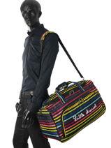 Travel Bag Raye Little marcel Multicolor raye 8850-vue-porte