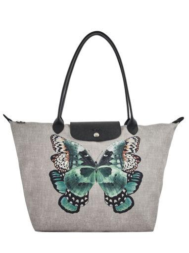 Longchamp Le pliage papillon Hobo bag Black
