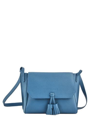 Longchamp Pénélope Sacs porté travers Bleu