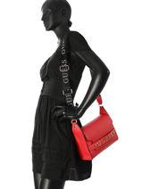 Shoulder Bag Felix Guess Red felix VG687621-vue-porte
