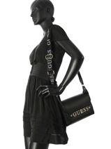 Shoulder Bag Felix Guess Black felix VG687621-vue-porte