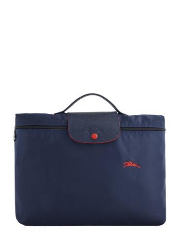 Longchamp Le pliage club Serviette Bleu