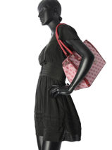 Sac Shopping Florence Guess Rouge florence SG699109-vue-porte
