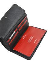 Wallet Hexagona Black gracieuse 317257-vue-porte