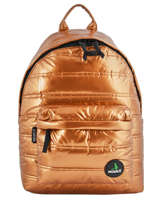 Backpack 1 Compartment Mueslii Gold metal RCM