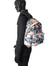 Backpack 1 Compartment A4 Eastpak Black pbg authentic PBGK620-vue-porte