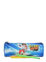 Kit 1 Compartment Yokai watch Blue attack YOKEI01-vue-porte