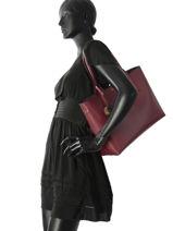 Sac Cabas A4 Frida Emporio armani Rouge frida 15Y3D081-vue-porte