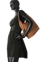 Shoulder Bag Studs Miniprix Brown studs MD2722-vue-porte