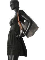 Shoulder Bag Studs Miniprix Gray studs MD2722-vue-porte