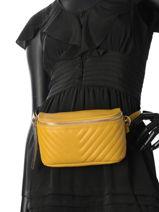 Fanny Pack Caviar Milano Yellow CA180603-vue-porte