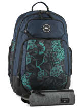 Backpack With Free Pencil Case Quiksilver Blue youth access QYBP3500