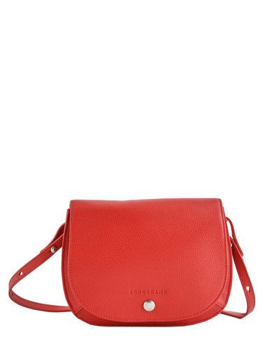 Longchamp Le foulonné Messenger bag Red