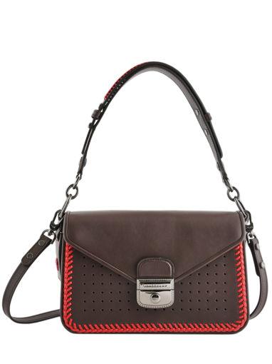 e22c6a9c0ff Longchamp Mademoiselle longchamp lacet Hobo bag Black ...